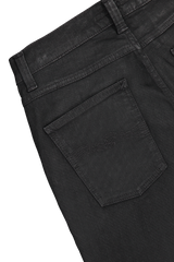 Back pocket detail image of Nudie Jeans Lean Dean Black Minded