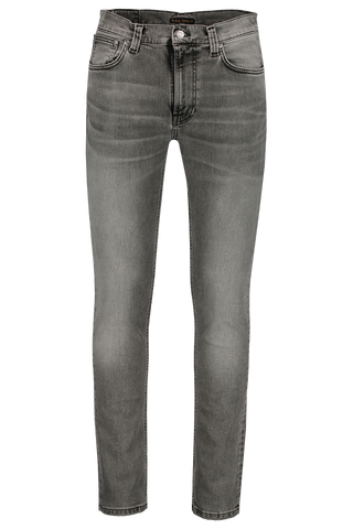 Front image of Nudie Jeans Lean Dean Vintage Grey