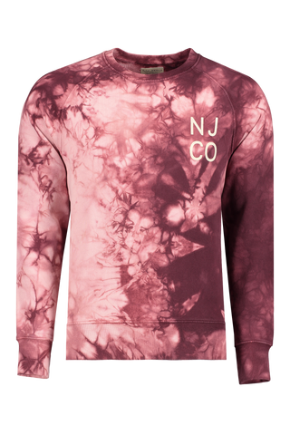 Front view image of Nudie Jeans Melvin Tie Dye Long Sleeve
