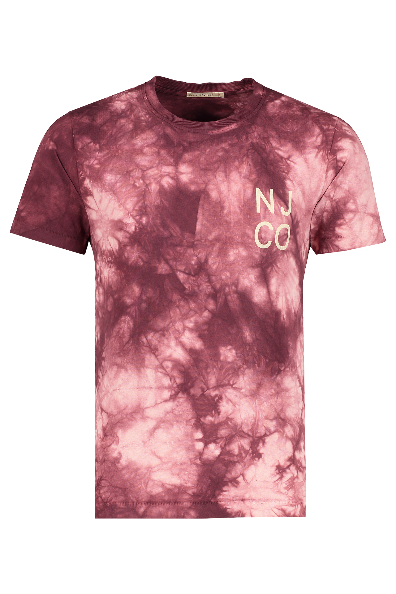 Front view image of Nudie Jeans Roy Tie Dye T-Shirt