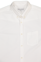 Officine Generale Neck Detail Antime Button Down Oxford