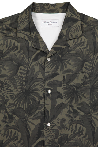 Dario Short Sleeve Jungle Print