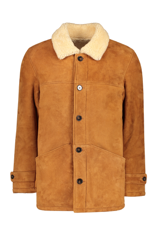 Jeff French Shearling Coat
