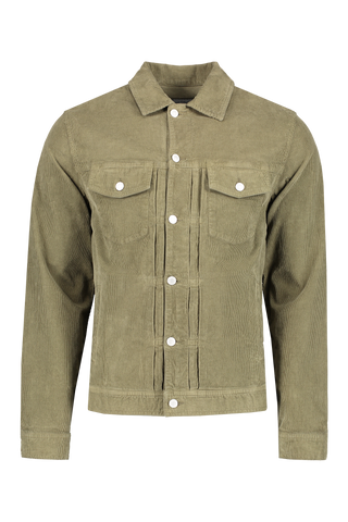 Front image of Officine Générale Liam Corduroy Jacket