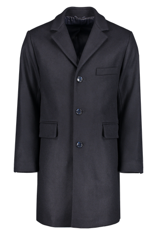 Front image of Officine Générale Alfie Wool Cashmere Coat