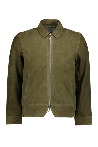 Rod Suede Bomber Jacket