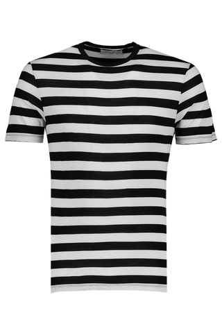 Short Sleeve Tee Cap Stripe