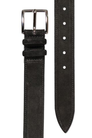 Main image of Orciani Amalfi Suede Belt Nero