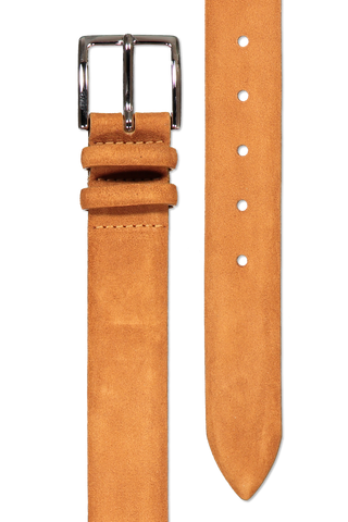Main image of Orciani Camoscio Suede Belt Miele