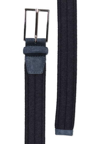 Main image of Orciani Elastic Wool Belt Notte