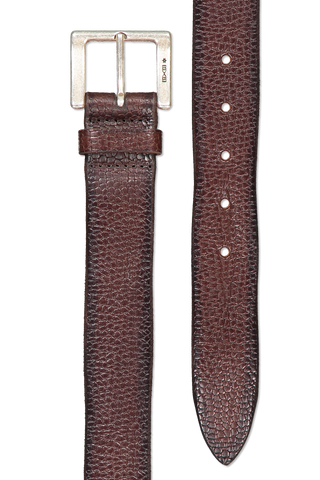 Main image of Orciani Grit Leather Belt T.Moro