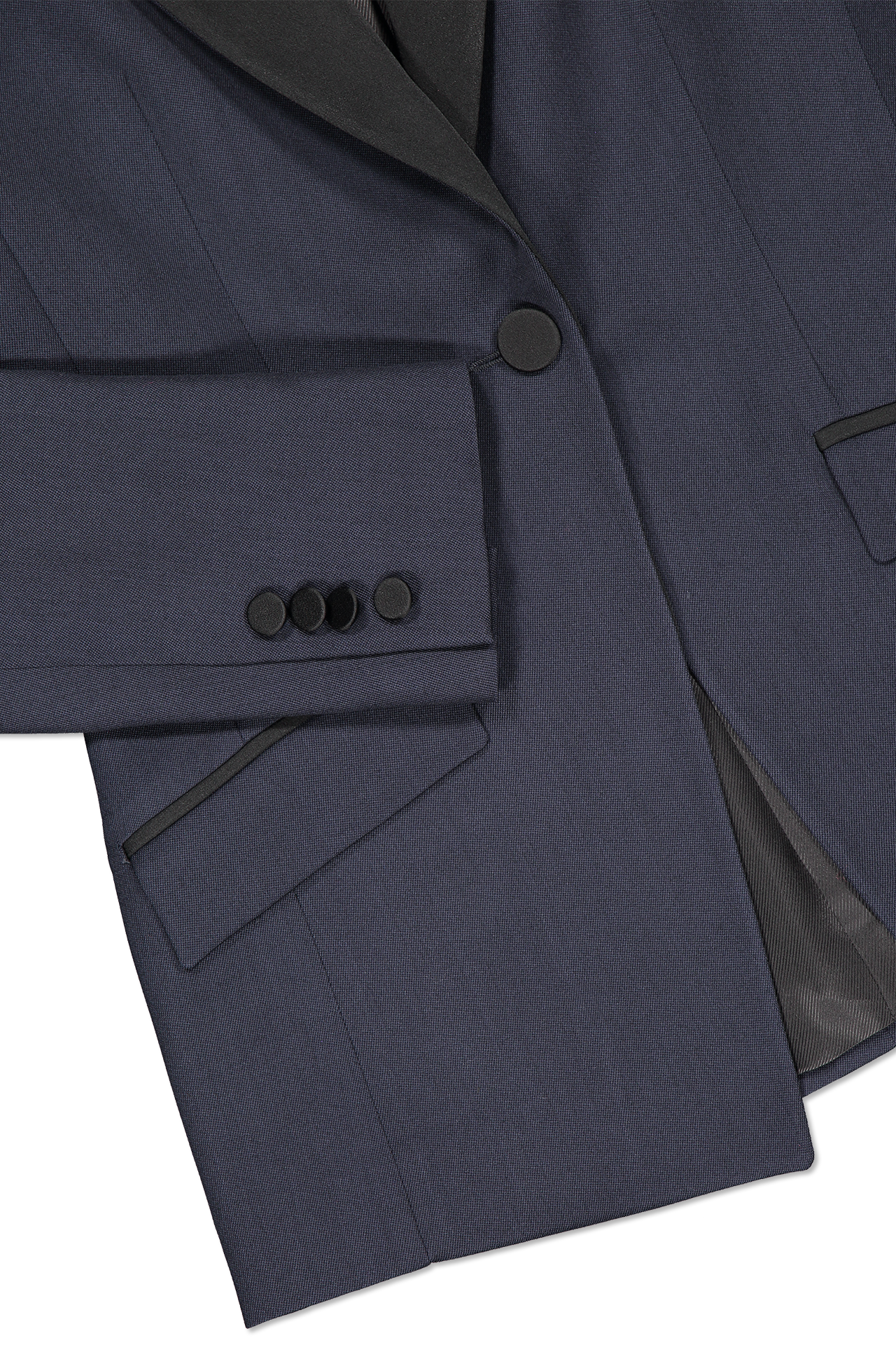 Hemline and cuff detail image of Pallas Chypre Tuxedo Jacket
