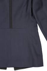 Back view hemline detail image of Pallas Chypre Tuxedo Jacket