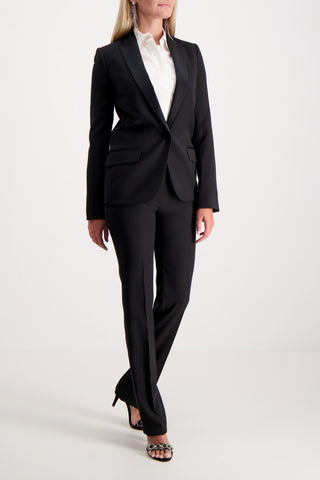 Don Juan Straight Leg Tuxedo Trouser Black