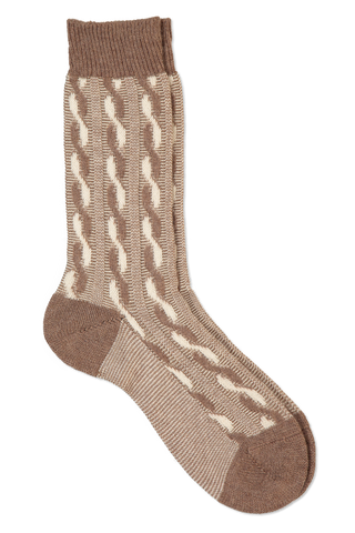 Sock Retro Tan