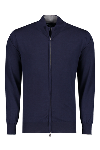 Front view image of Peter Millar Excursionist Flex Full Zip