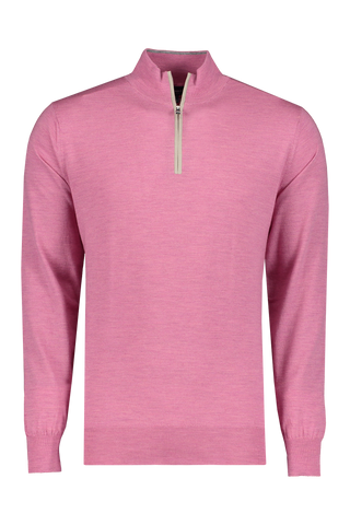 Front view image of Peter Millar Excursionist Flex Quarter Zip