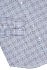 Hem and cuff detail image of Peter Millar Jozi Plaid Sport Shirt