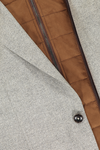 Removeable Collar Sportcoat