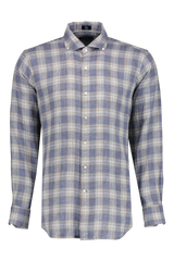 Waimea Linen Plaid Sport Shirt