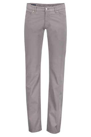 Front view image of Wayfare Knit Five-Pocket Trouser Nickel