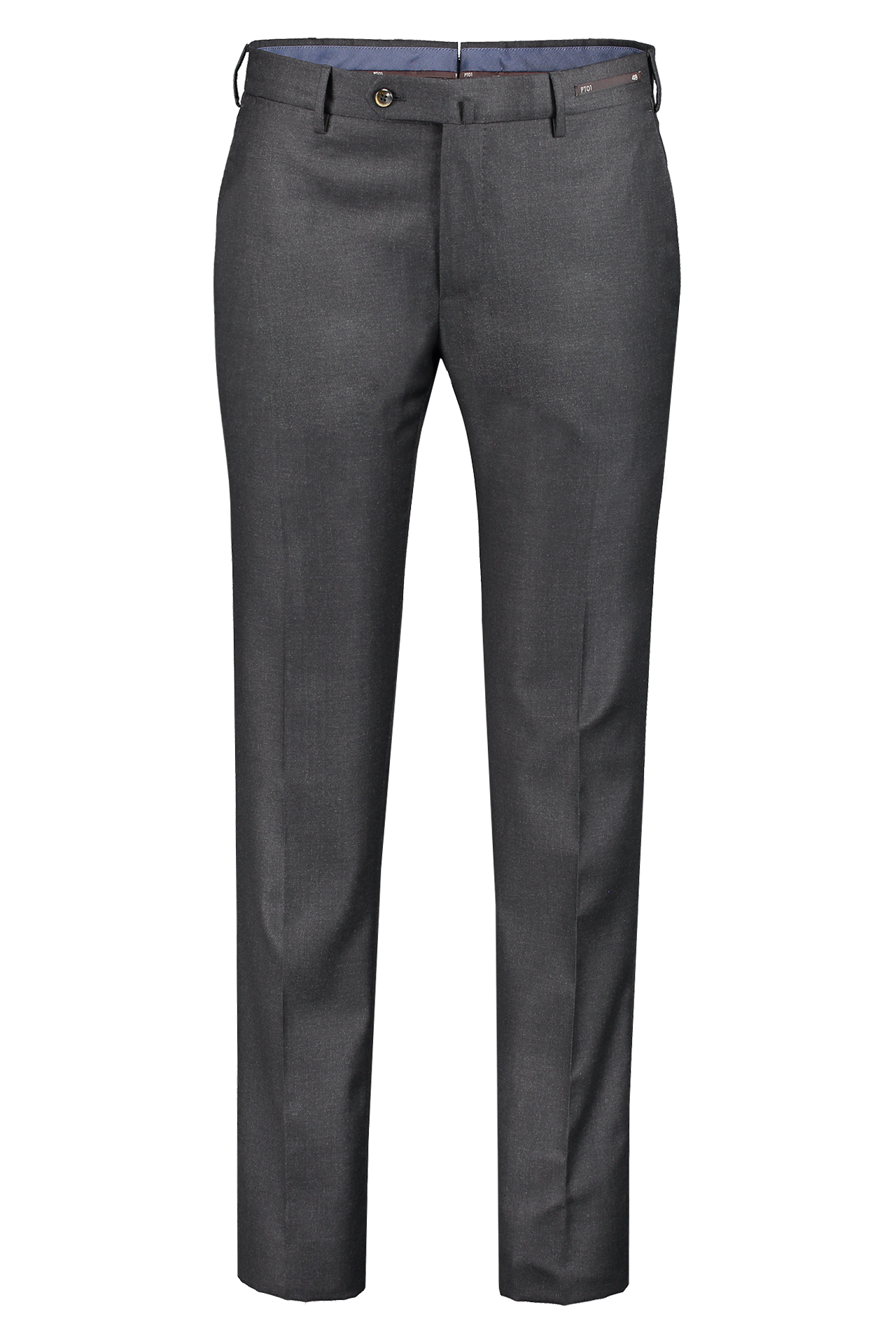 Front image of PT01 100's Superlight Flannel Trouser Navy