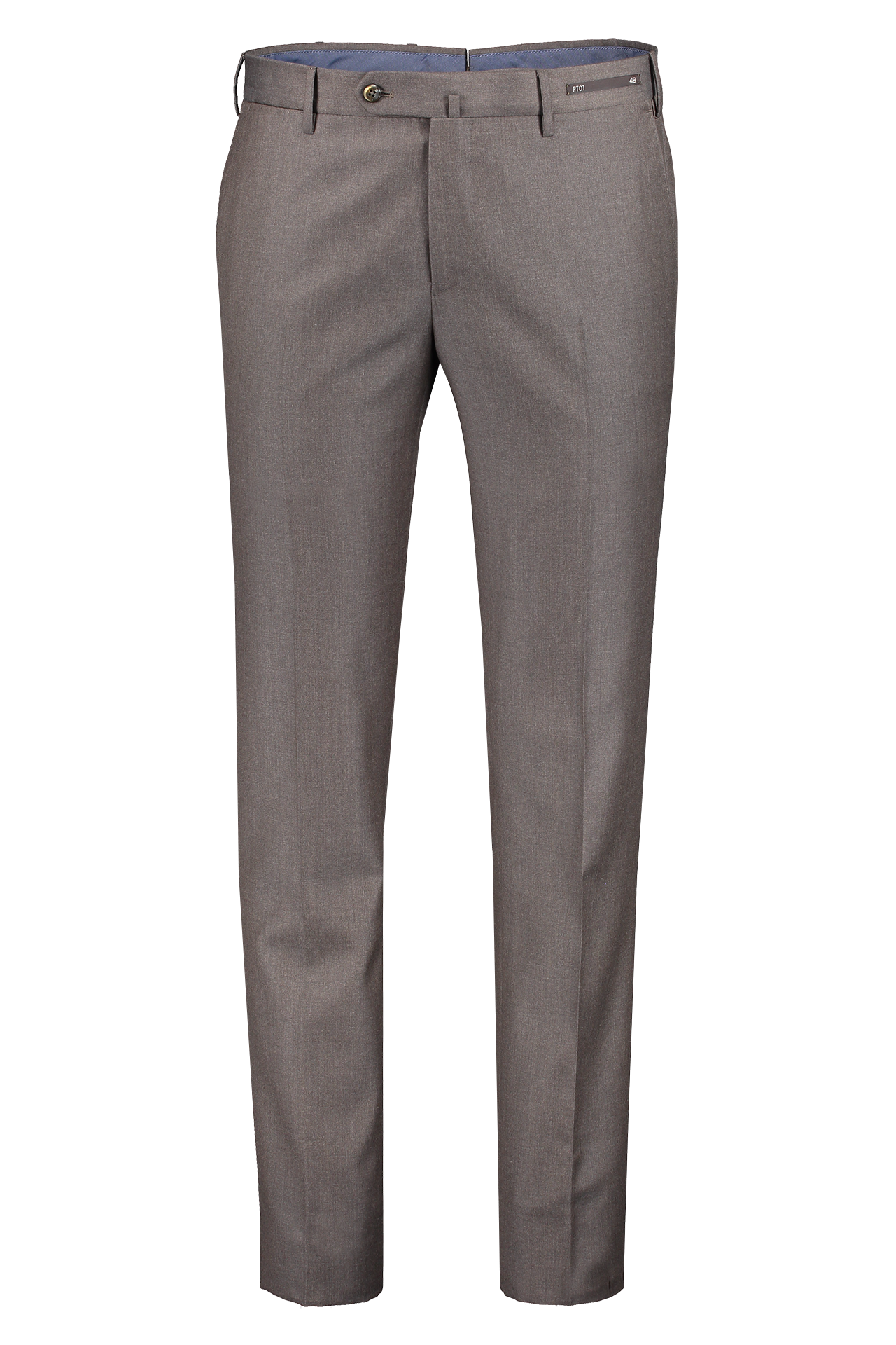 Front image of PT01 110's Superlight Flannel Trouser Brown
