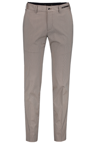 Front Image of PTO1 Flat Front Elastic Waistband Trouser