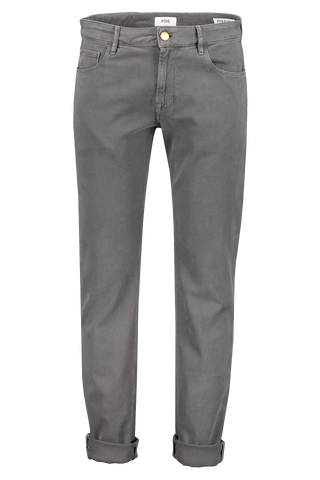 Front image of PT01 Jazz Stretch Luxury Twill Grey