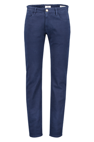 Front image view of PT01 Jazz Stretch Luxury Twill Navy
