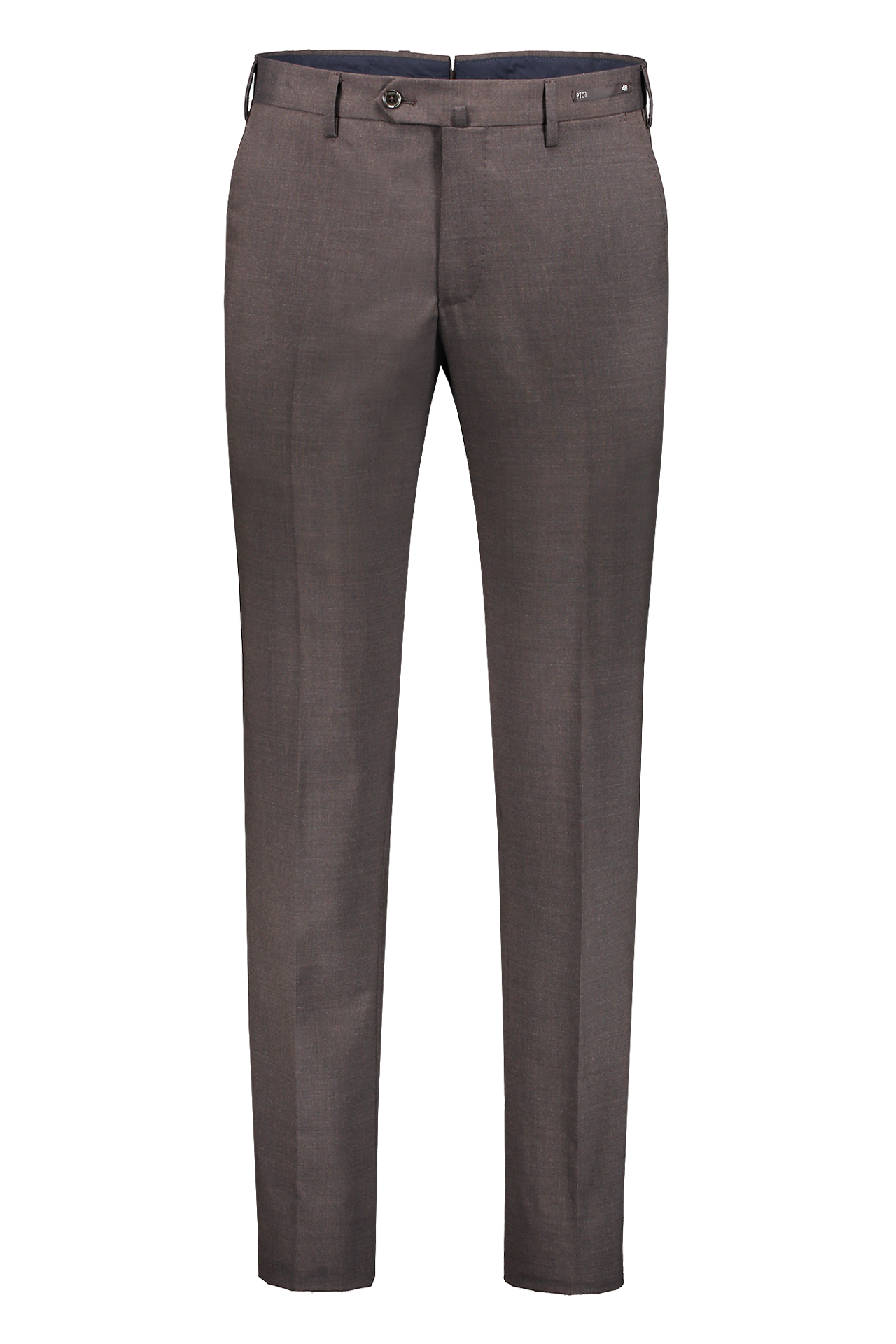 WOOL TROUSER BROWN