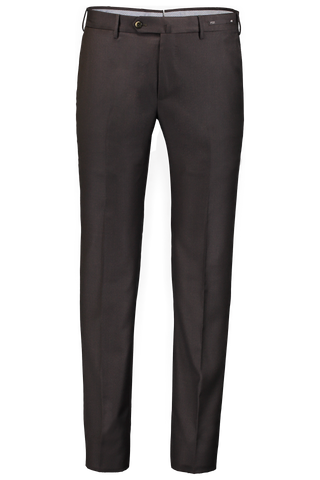 SLIM FIT TROUSER BROWN