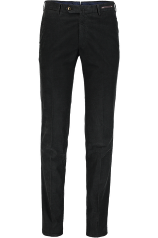 SLIM FIT TROUSER CORD BLACK