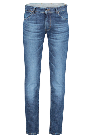 Front Image of PT01 Soul Slim Fit Demim Mid-Dark Wash