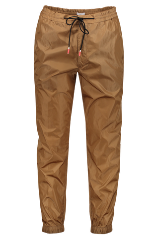 Front image of PT Forward Drawstring Jogger Diagonal Pockets Khaki