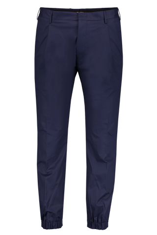 Front Image of PT Forward Pleated Chino In Navy