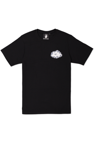 SS TEE CLOUD BLACK