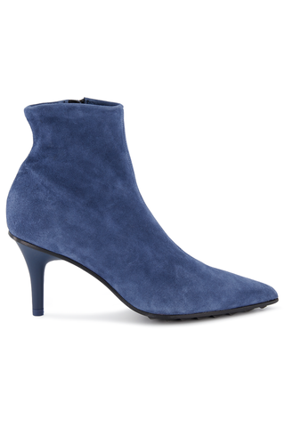 Side view image of Rag & Bone Women's Beha Stretch Boot Royal Blue