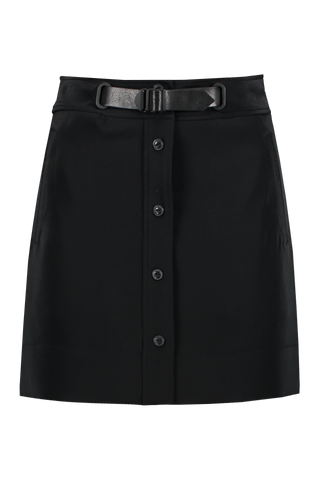 Front view image of Rag & Bone Women's Caroline Skirt Black
