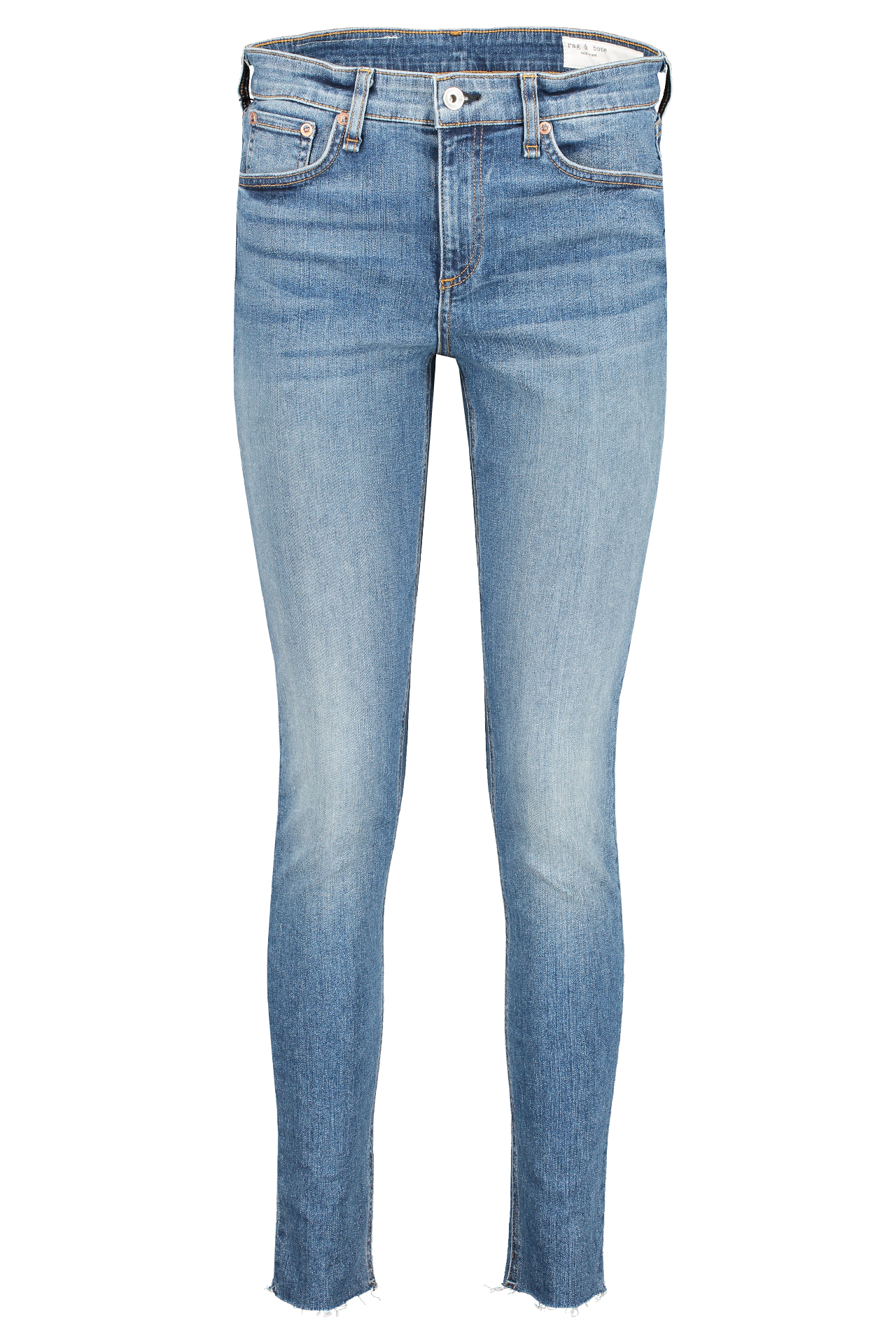 Front view image of Rag & Bone Women's Cate Mid-Rise Skinny Bees