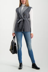 Full Body Image Of Model Wearing Rag & Bone Women's Cate Mid-Rise Skinny Bees