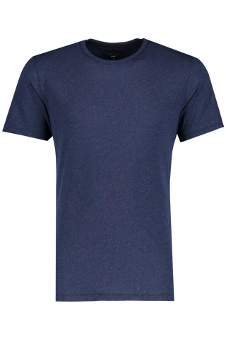 Front view image of Rag & Bone Men's Classic Nep Tee Navy