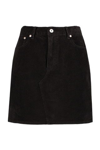Front view image of Rag & Bone Women's Hayden Skirt Black