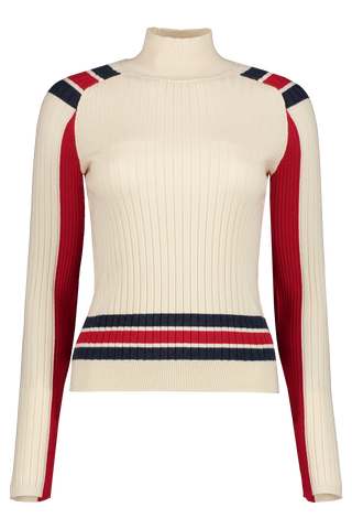Front view image of Rag & Bone Women's Julee T-Neck Sweater
