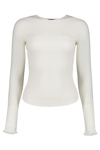 Kishi Seamless Long Sleeve Chalk