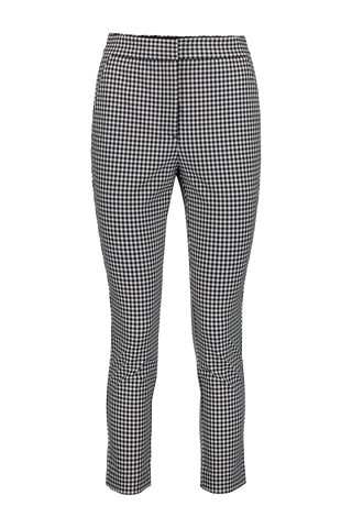 Layla Gingham Pant Black and White