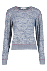 Front view image of Rag & Bone Women's Long Sleeve Avryl Pullover