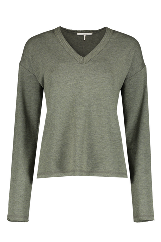 Front Image of Women's Long Sleeve Surplus Pullover