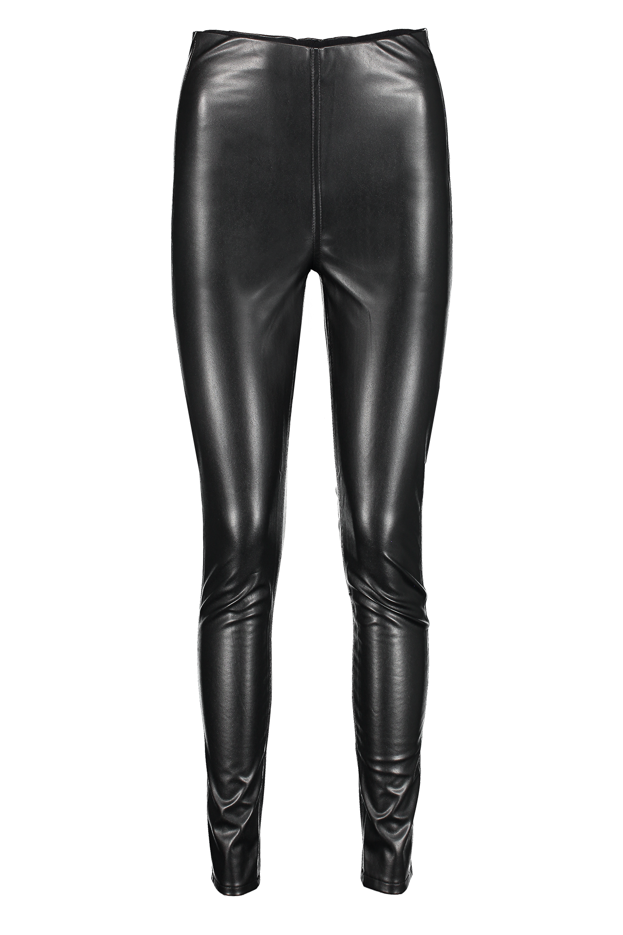 Women's Nina Faux Leather Pull On Skinny Pant
