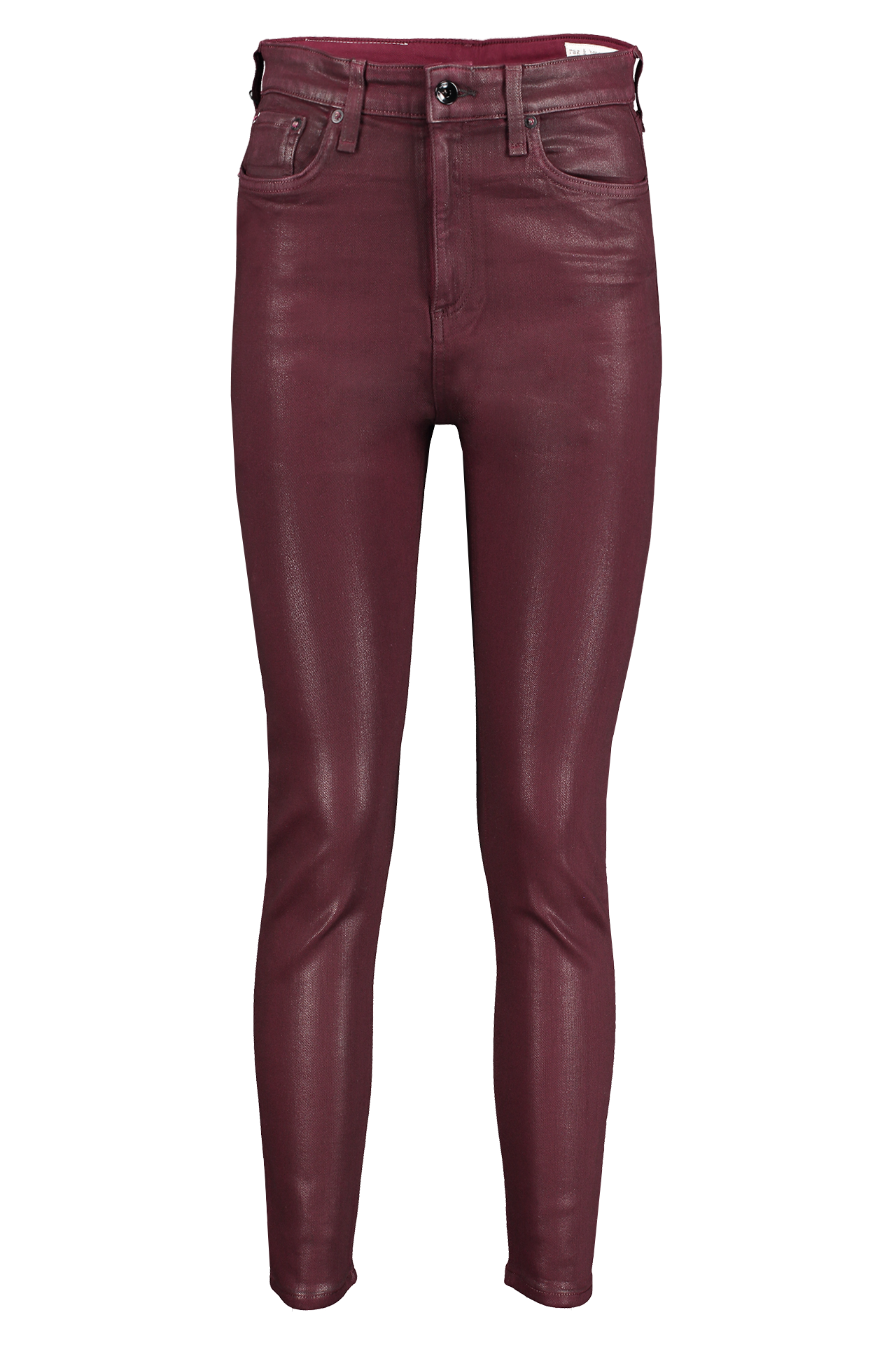 Front Image Of Rag & Bone Nina High Rise Ankle Skinny